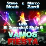 """Single by Steve Noah & Marco Zardi Feat. El 3mendo & Stefy G """"Vamos De Fiesta"""""""